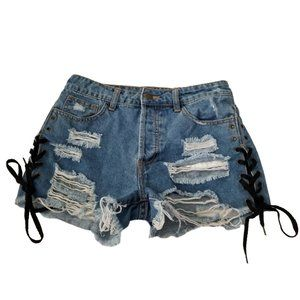 Forever 21 Distressed Shorts Size Small